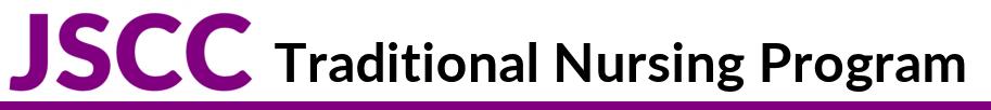 JSCC Traditional Nursing Program branch icon underline
