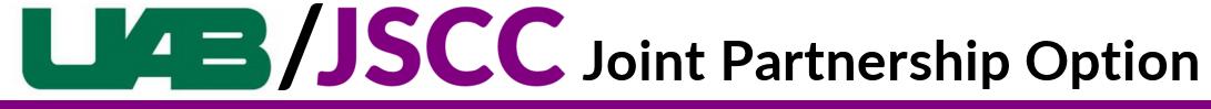 UAB JSCC Joint Nursing Program branch icon underline